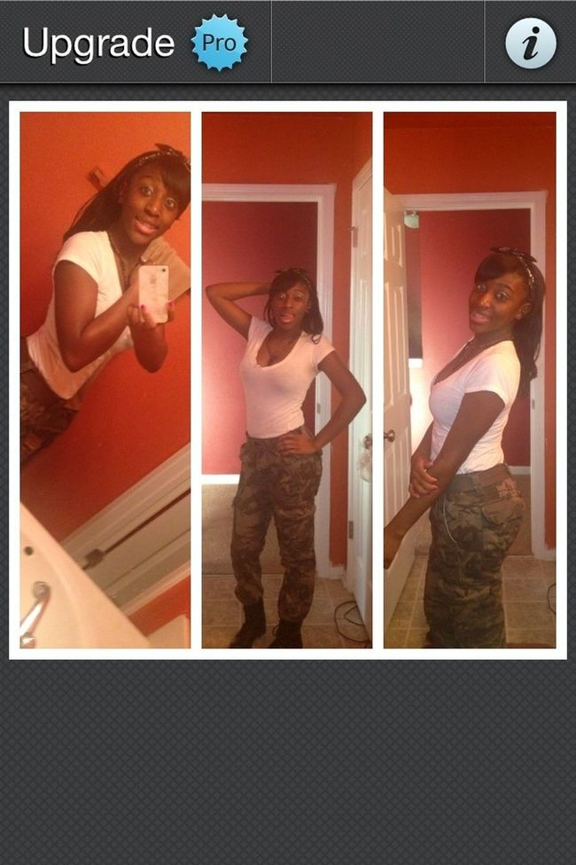 I was cute that day yess