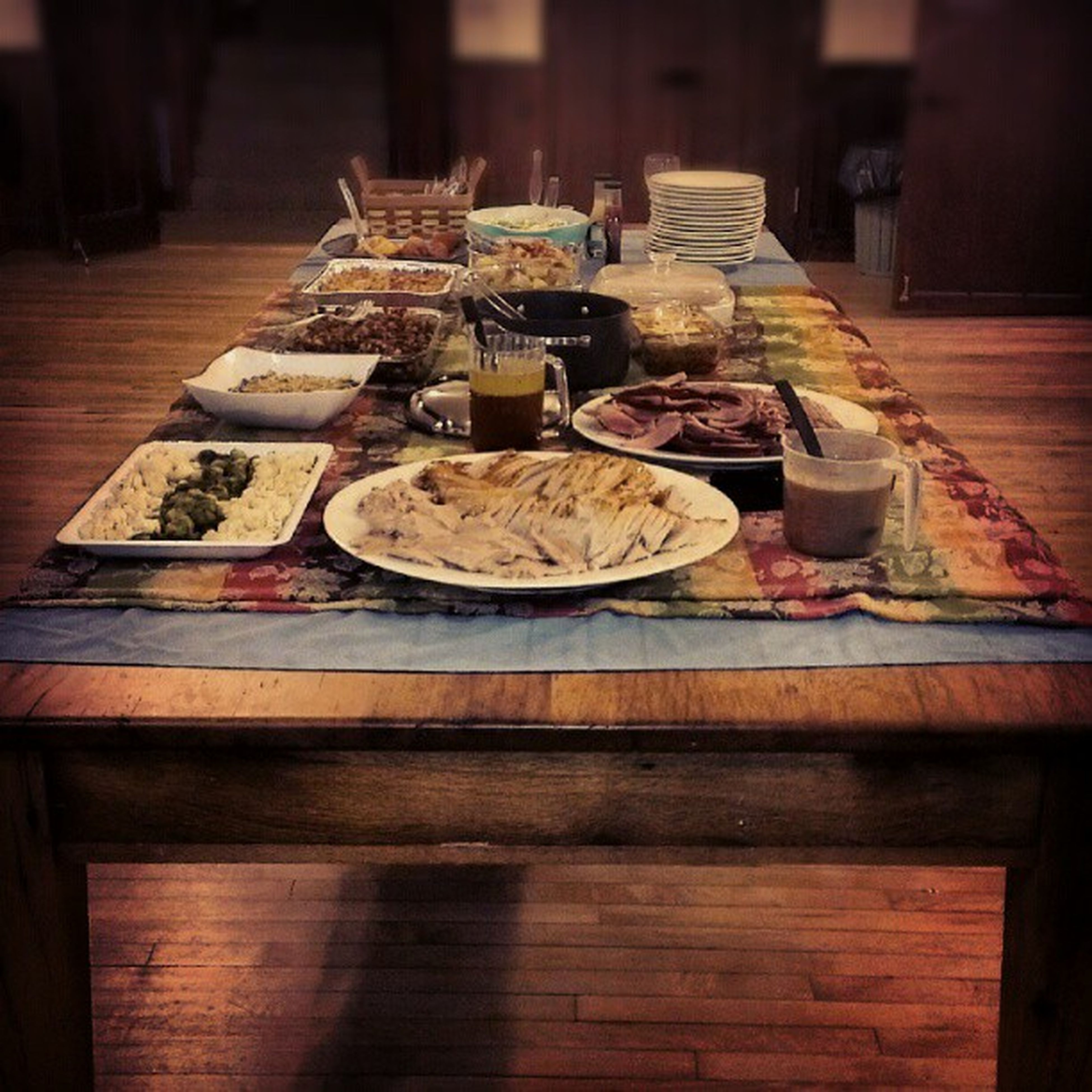 indoors, table, wood - material, food and drink, still life, large group of objects, food, wooden, freshness, arrangement, abundance, variation, wood, selective focus, no people, choice, in a row, healthy eating, stack, high angle view