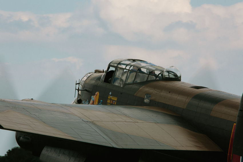 World War 2 Air Force Air Vehicle Airplane Airshow Avro Anson Cloud - Sky Day Fighter Plane Lancaster Bomber Military Military Airplane No People No People, Outdoors Sky Transportation