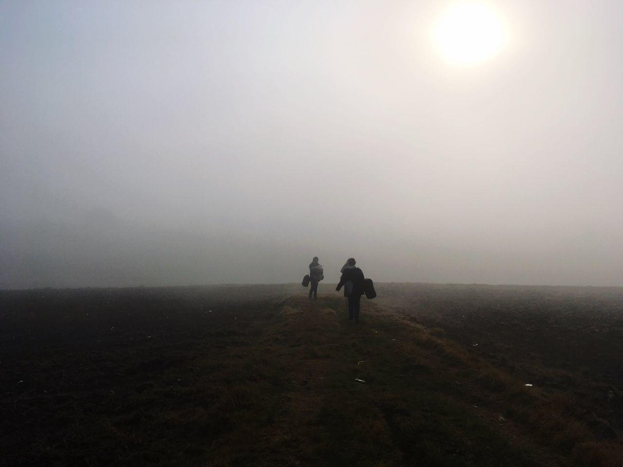 Neblina Two People Walking First Eyeem Photo