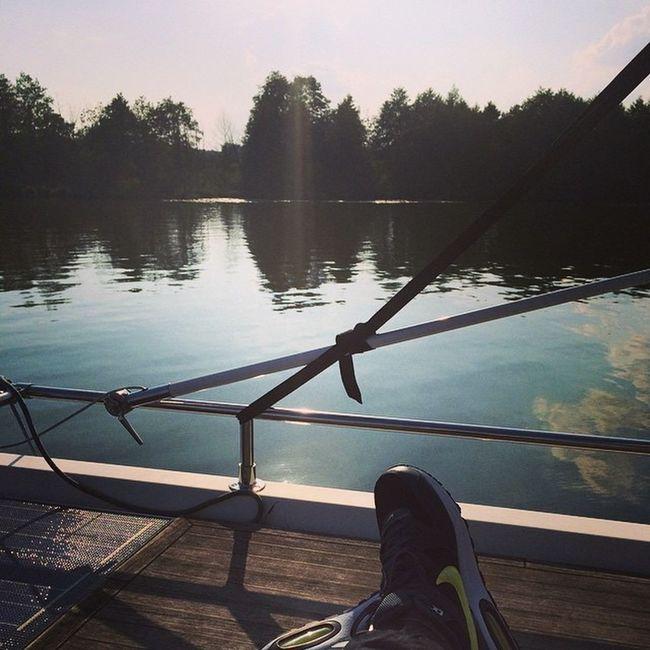 Ich bleib hier. #boat #trip #schwielochsee