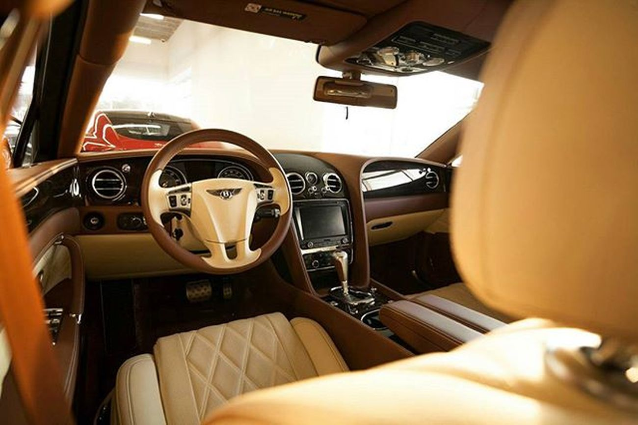 Dat interior doe Bentley Continental Flyingspur Luxurylife Luxury Wealth Millionaire Wealth Style