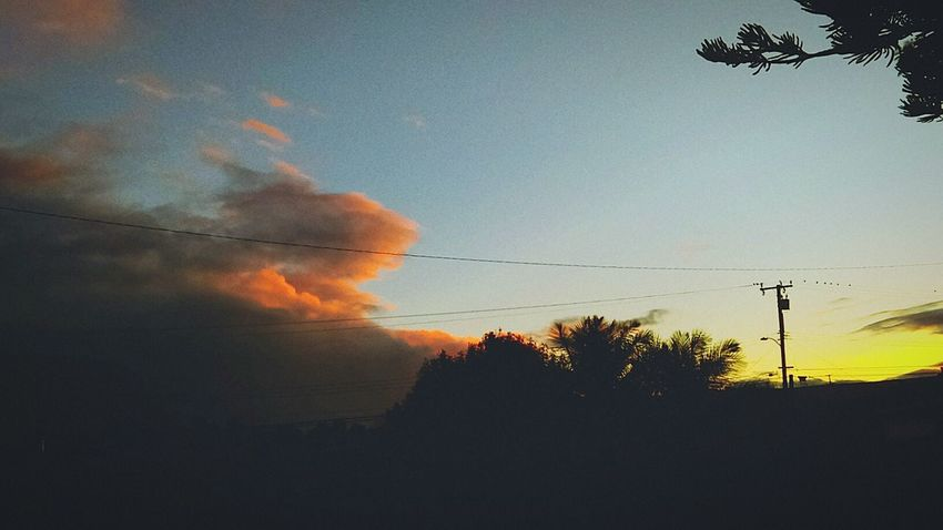 Sunset Sky Nature Dramatic Sky Dusk Cloud - Sky Low Angle View Scenics Clouds And Sunset  Cloudchaser