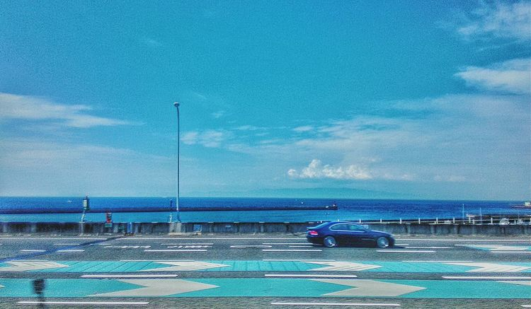 Quick Mobilephotography Sky Clouds Sea Highway Sky And Sea Clouds And Sky Car Blue Airport Street Photography Streetphotography Streetphoto_color Eye4photography  EyeEm Best Shots Exceptional Photographs ゆs&c On The Way 蔦裊裊 Transportation Landscapes The Street Photographer - 2016 EyeEm Awards Colors And Patterns at 関西空港自動車道 in Osaka Japan Osaka 大阪