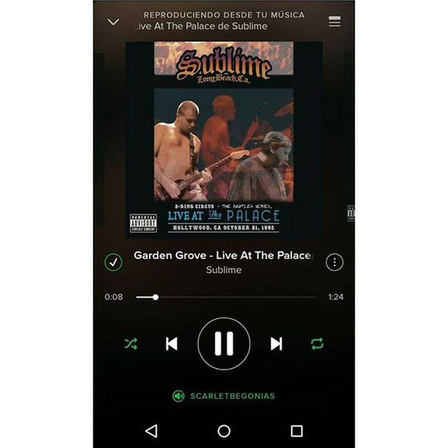 Una dosis de genialidad Music Musica Sublime Band Bands Bradnowell Spotify GardenGrove