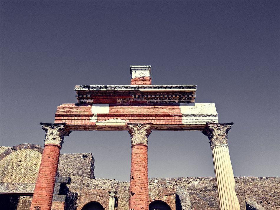 Ruins Laculturasiamonoi Lifeanddeath Vesuviocoast Pompeiiruins