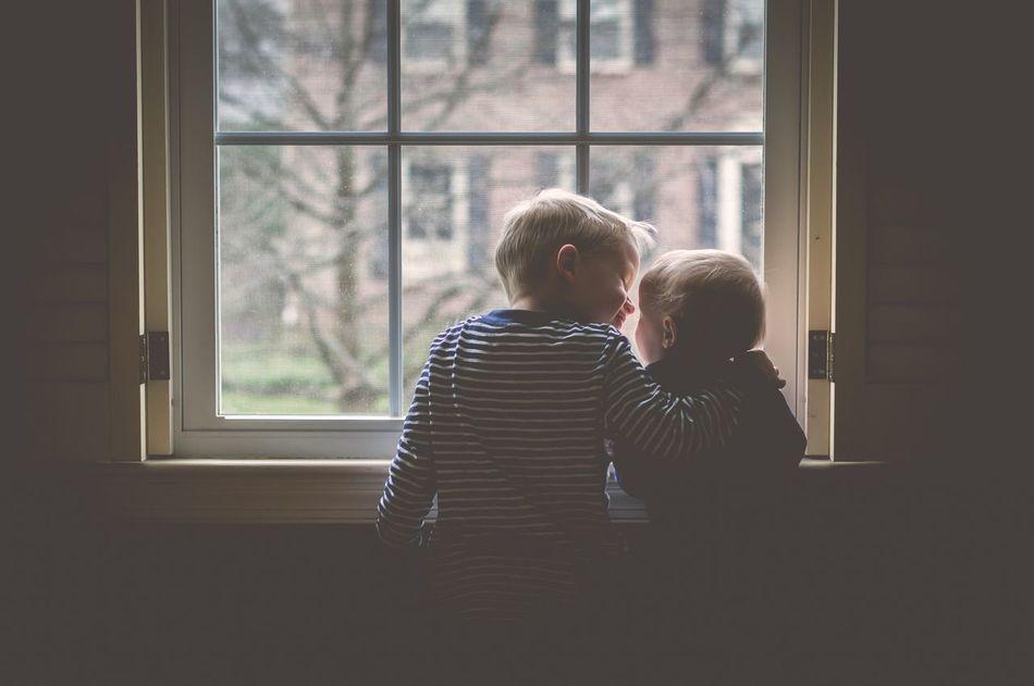 Siblings Love Kids Family Children Childhood Child