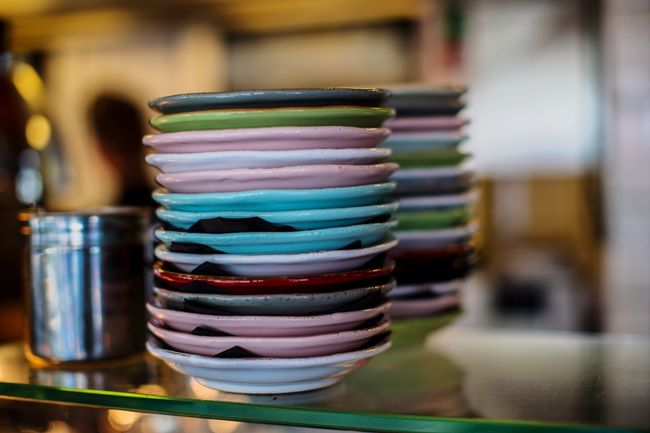 Plates from Italy / ... Plate Plates Teller Breakfast Frühstück Colors Italy Restaurant Enjoying Life Food