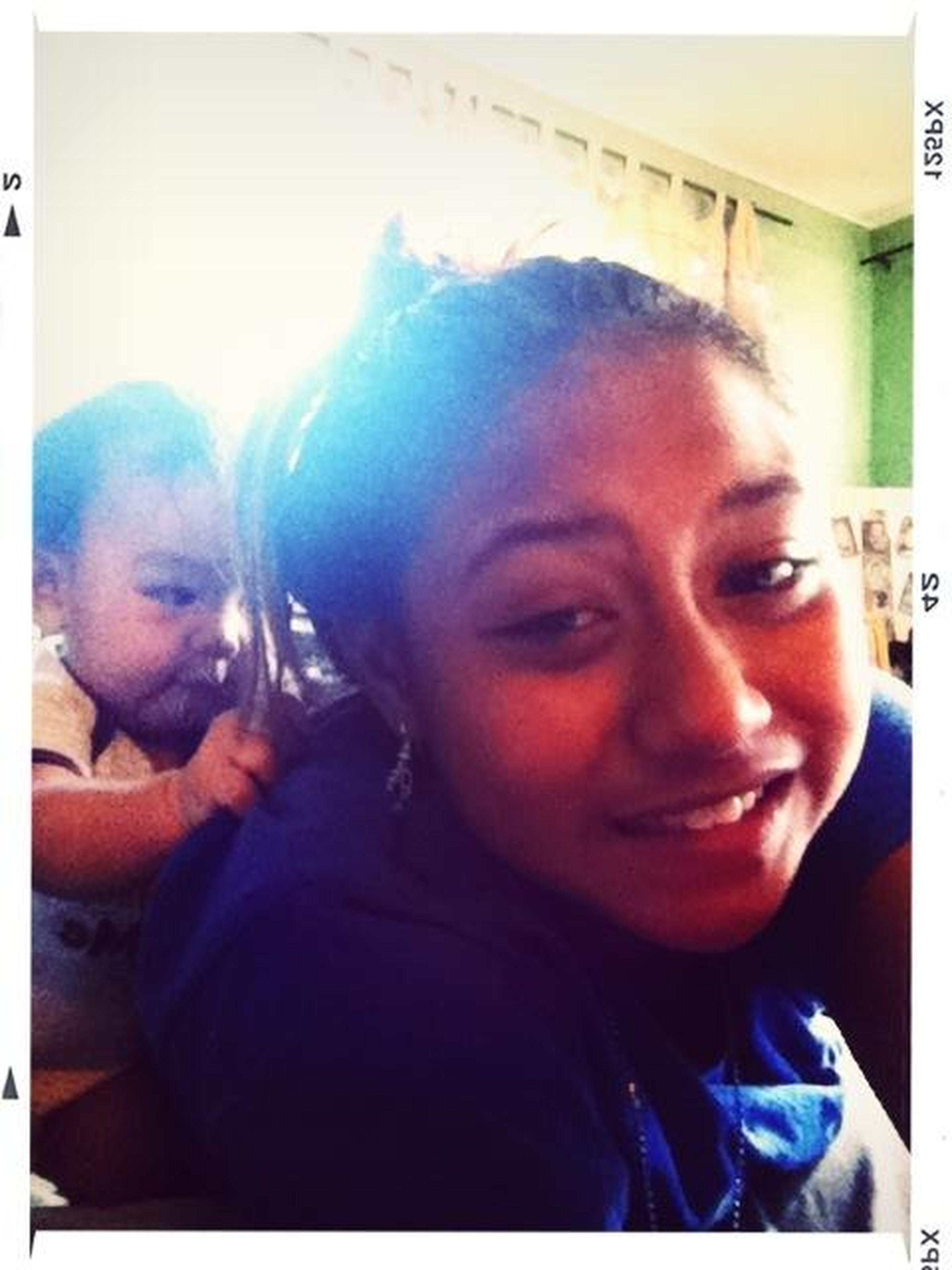 Izaac Is Pulling My Hair...