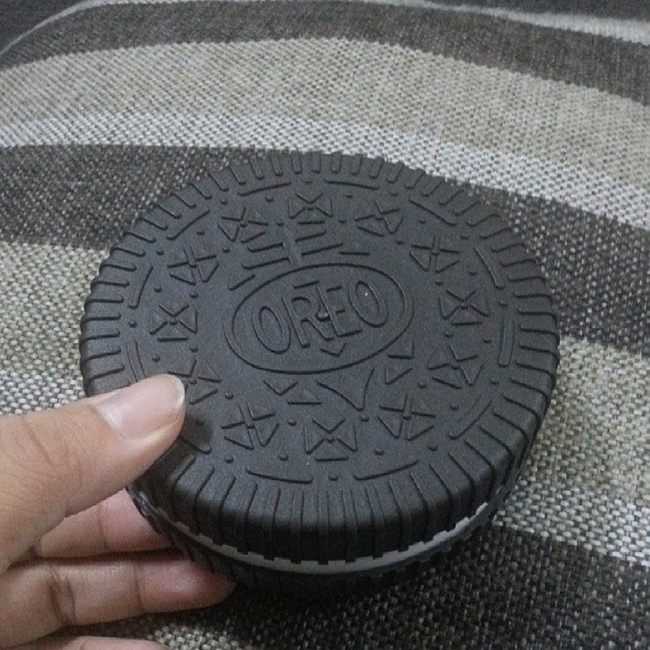 Giant oreo Oreo Asterinasazalie Instaasterinasazalie VanillaOreo cookies lovely sedap marvellous yumyum