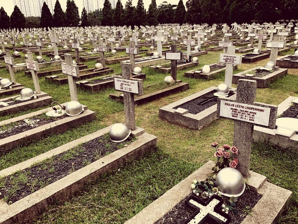 War Memorial No People Outdoors Day Monuments Indonesian Hero Kalibata Built Structure Cemeteries Graveyard Memorial War Military Gravestone The Past Tombstone