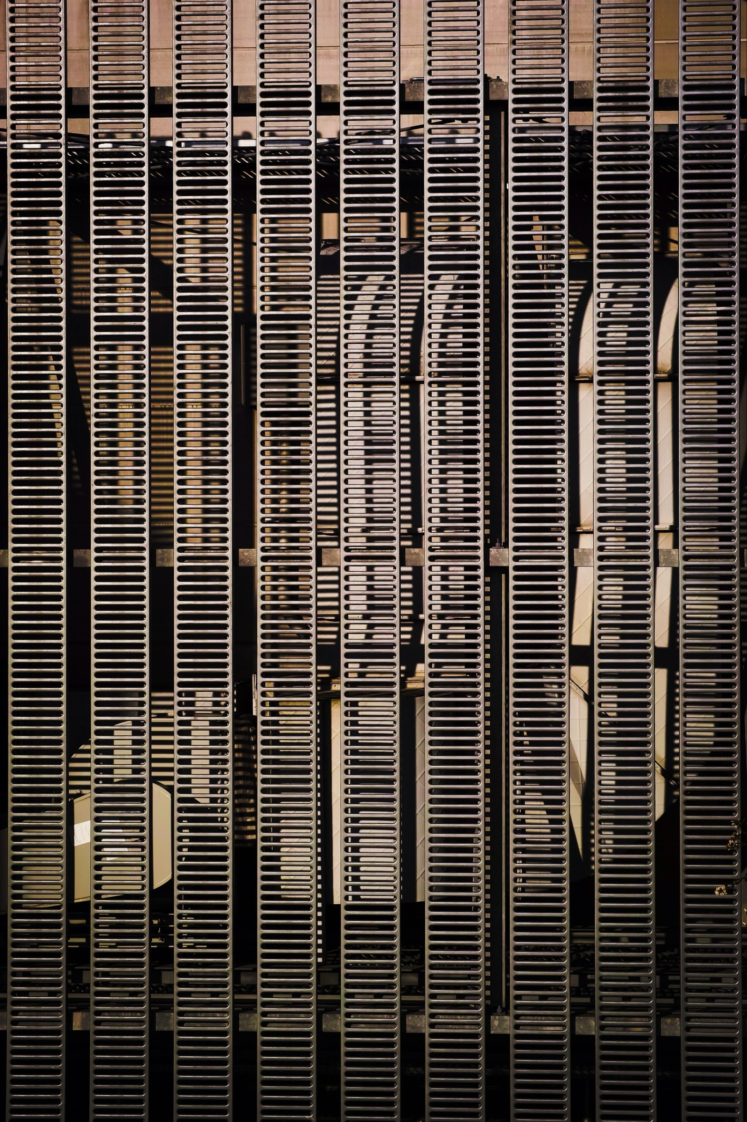 full frame, backgrounds, pattern, built structure, architecture, window, textured, blinds, building exterior, wall - building feature, close-up, repetition, no people, design, brick wall, wall, day, indoors, protection