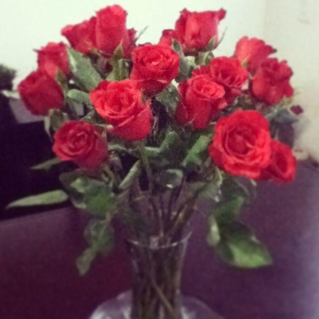 Lovely Red Roses My Boyfriend ❤