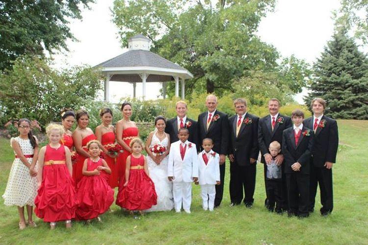 my wedding party members