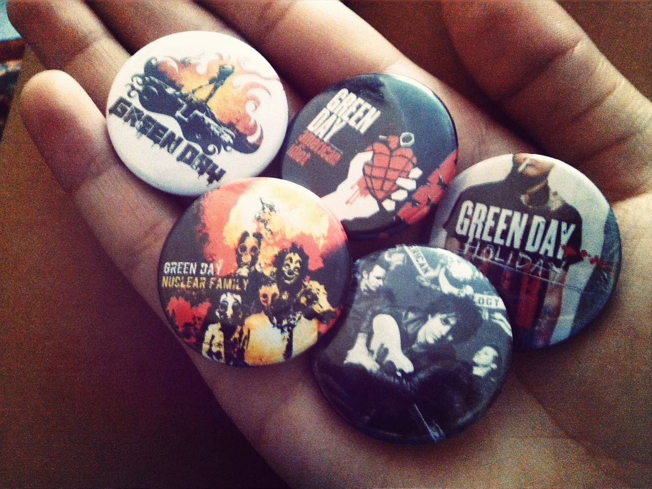 Green Day Band Merch