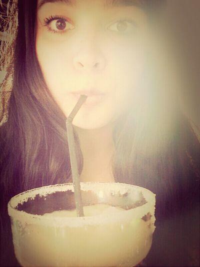 Drinking Margarita