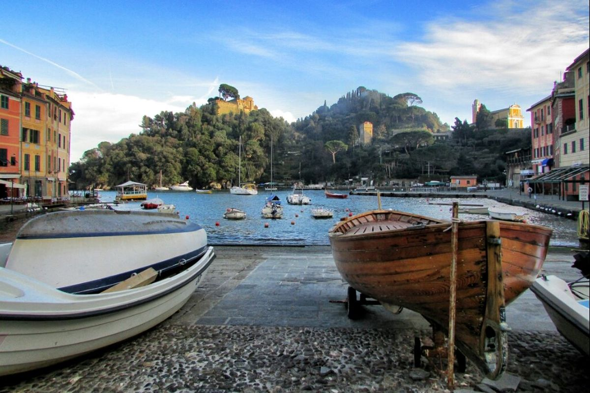 liguria Portofino eye4enchanting italy Taking Photos Enjoying the View by Simodenegri