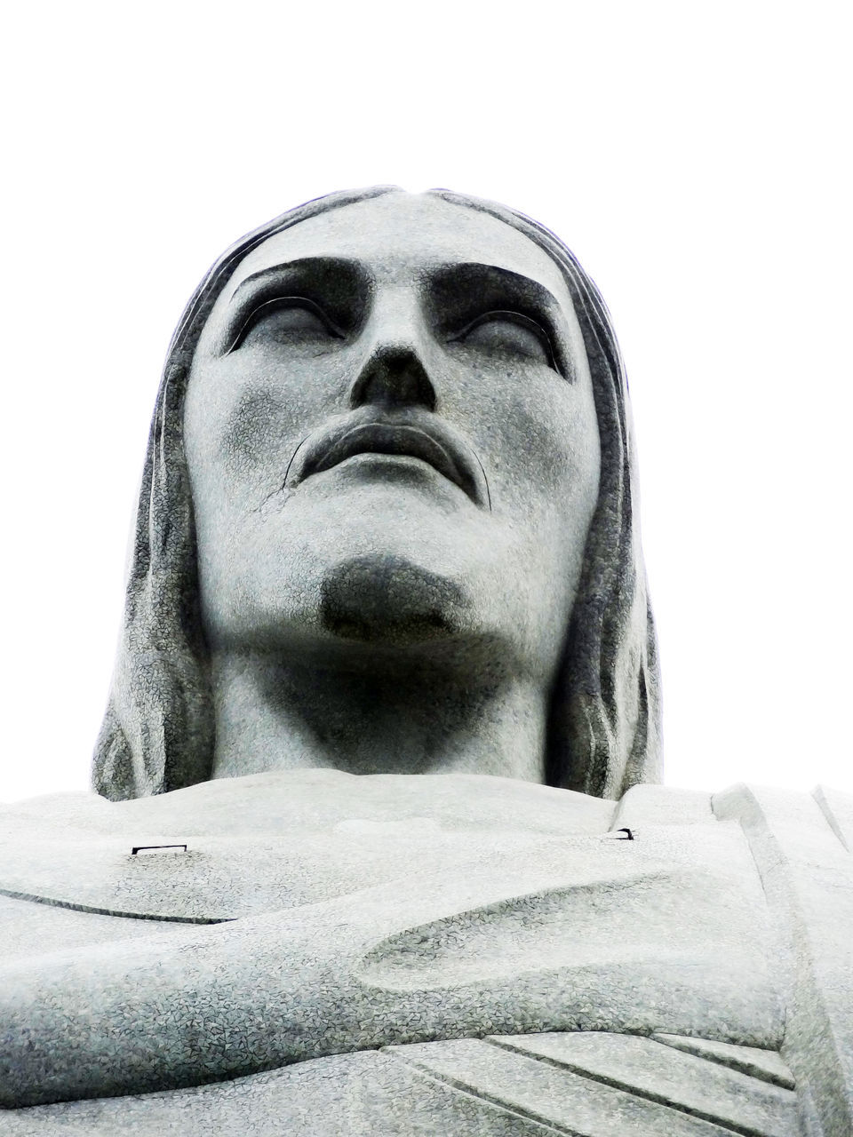 statue, spirituality, religion, sculpture, low angle view, men, white background, close-up, day, outdoors, people