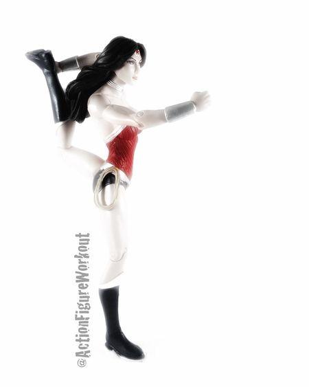 Yogaeverydamnday Yoga Toyphotographer Toptoyphotos Actionfigurephotography Toygroup_alliance Wonderwoman Wonder Woman Yoga Practice Yogaeverywhere