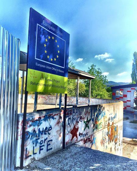 Teura Mitrovica Newbridge Kosovo Europe Bridge