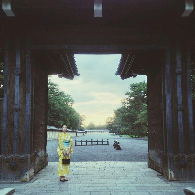 Japanese summer #京都 #浴衣
