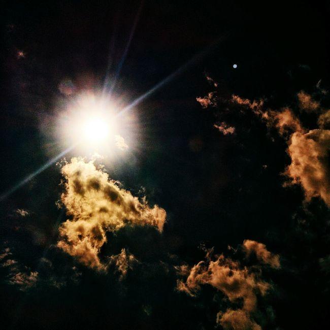 Sky Sky And Clouds Dark Sun Sunshine EyeEm Best Shots КНЯЗЕВ_ПИДР Nexus5 Nexus Snapseed Russia Dramatic Sky Drama Summer