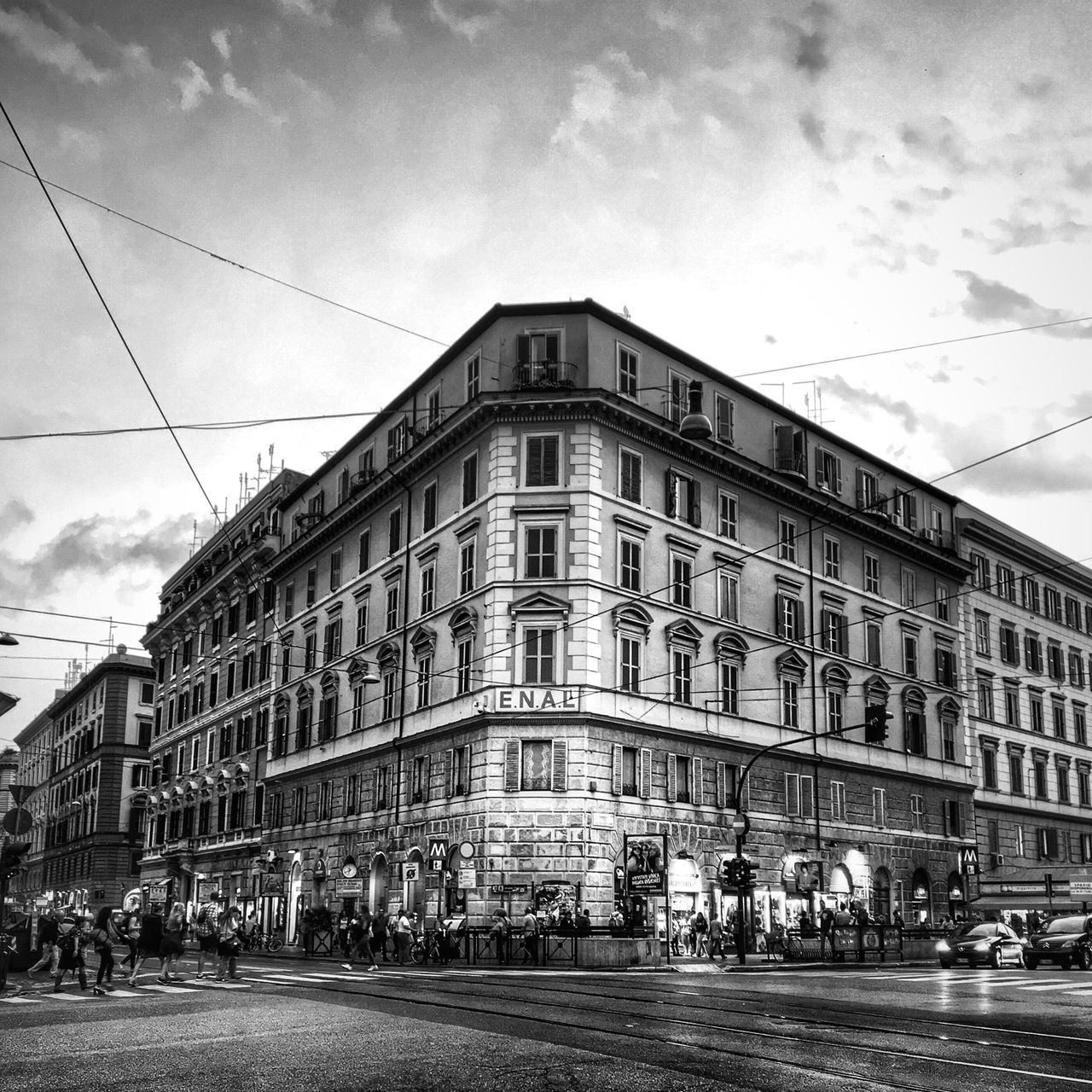 When in Rome 011 Architecture Street Black & White Blackandwhite Photography VSCO Black And White Lightroom Mobile AMPt - Street Shootermag Rome City Italy Architecture