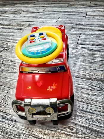 Red Toy Car For Kids Play Enjoy Small Car