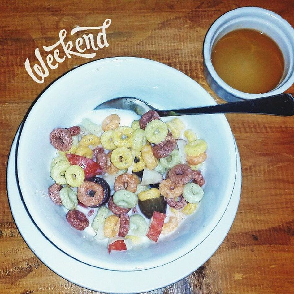 A reward for an awesome week! How will you spend your weekend? Kantofied Kantofreestylebreakfast