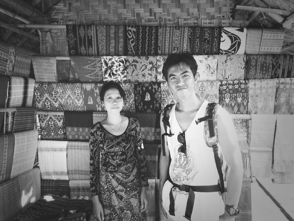 Me and the sasak women. Lombok-Indonesia Travelling Black And White Beautifuldestination