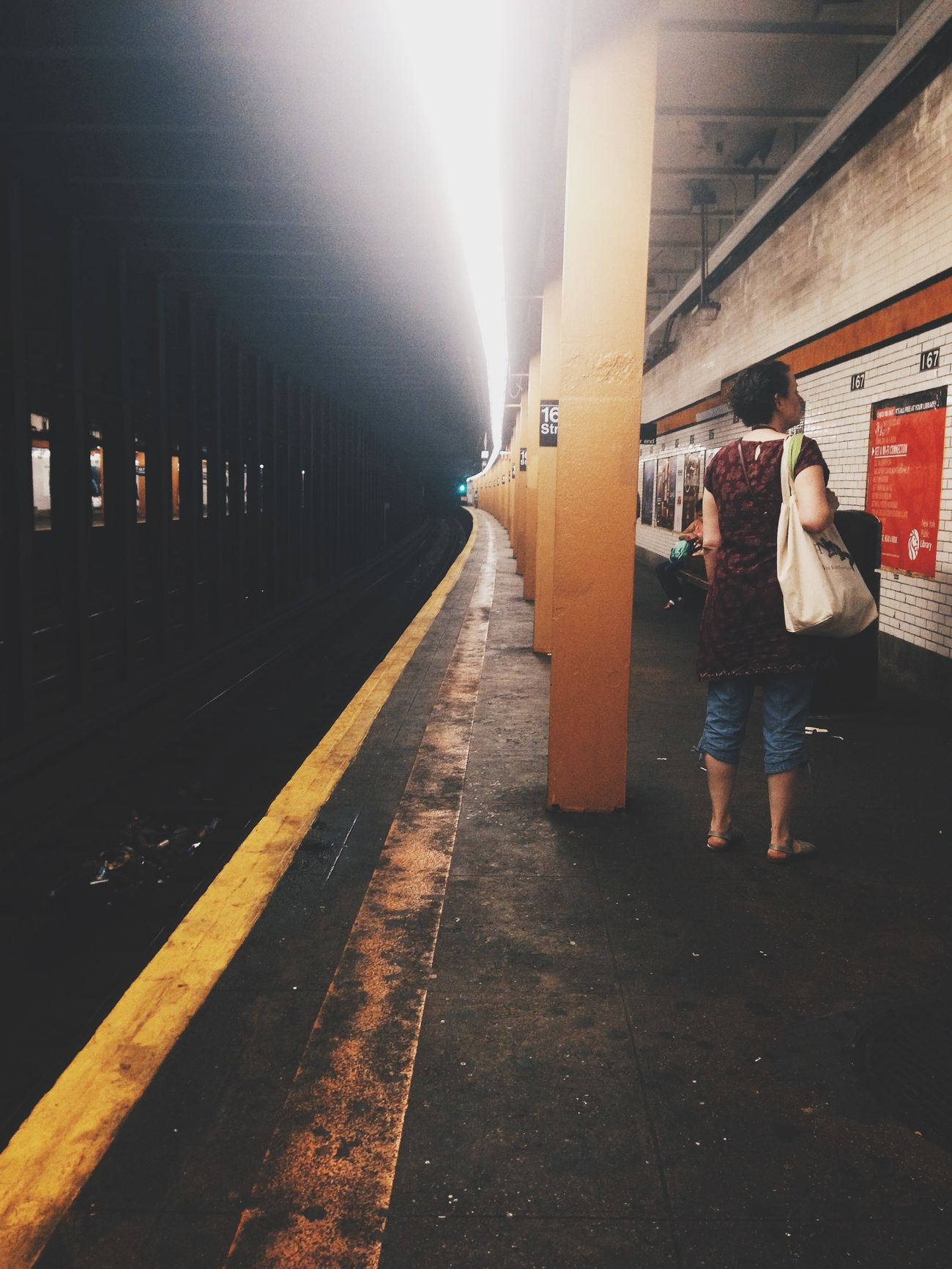 Notes From The Underground Subway Urbanphotography Urbanexploration Vscocam