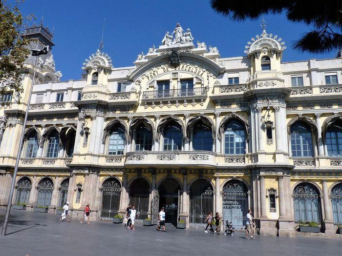 Achitecture [Barcelona Port De Barcelona