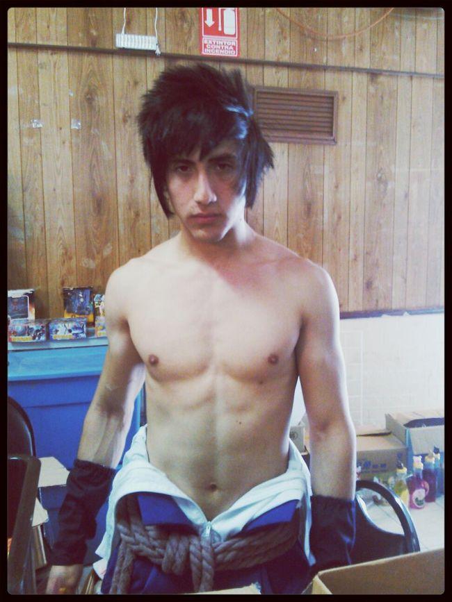 Cosplay de sasuke uchicha- cosplayer (desconocido) Cosplaying Sasuke_Uchiha Centro De Convenciones