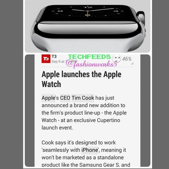 Fashionworkstv IWatch TechFeedS @fashionworks5 Apple TechNewS technology tech