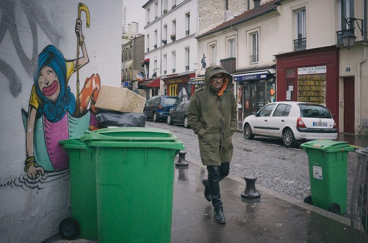 City Life Color Photography Graffiti Lifestyles Rain Ricoh Gr Street Streetphotography