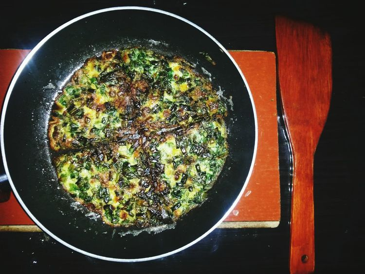 Foodphotography EyeEm Azerbaijan Meetup national Regional food Omelette with Green Amazing Testy The Foodie - 2015 EyeEm Awards