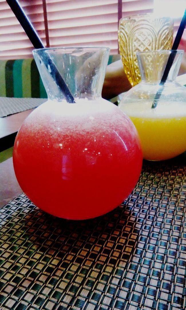 Water Melon Orange Juice  @ Fun Times!!!