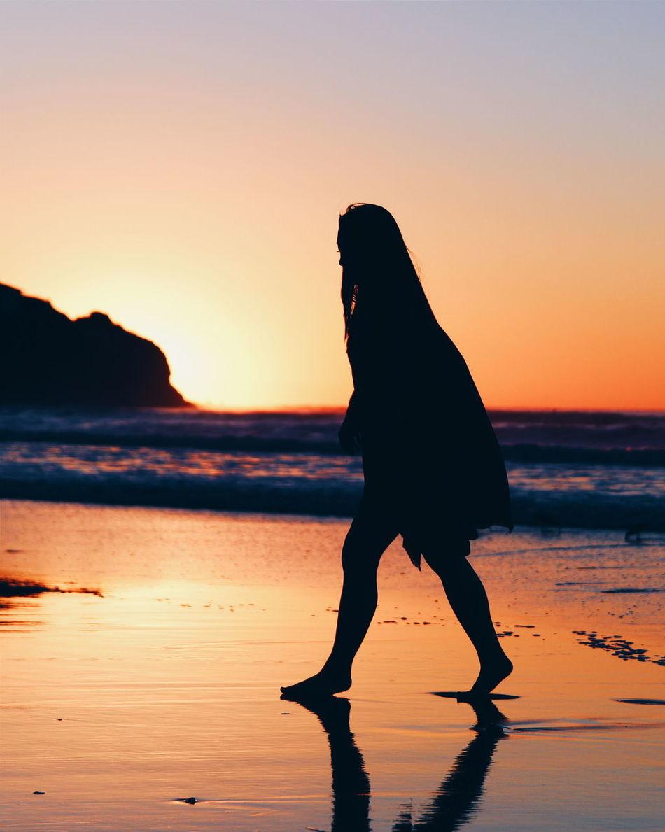 Beautiful stock photos of los angeles, Beach, Full Length, Leisure Activity, Nature