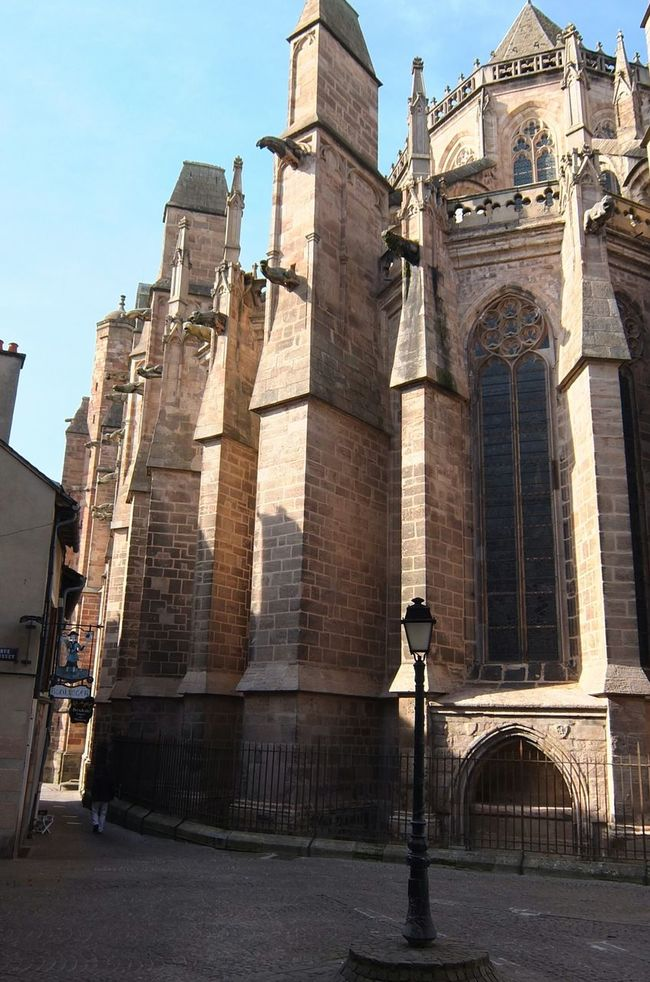 Cathédrale De Rodez Cathedral Rodez Aveyron Rodez Religious Architecture Streetphotography Gothic Gothic Architecture Gothic Church