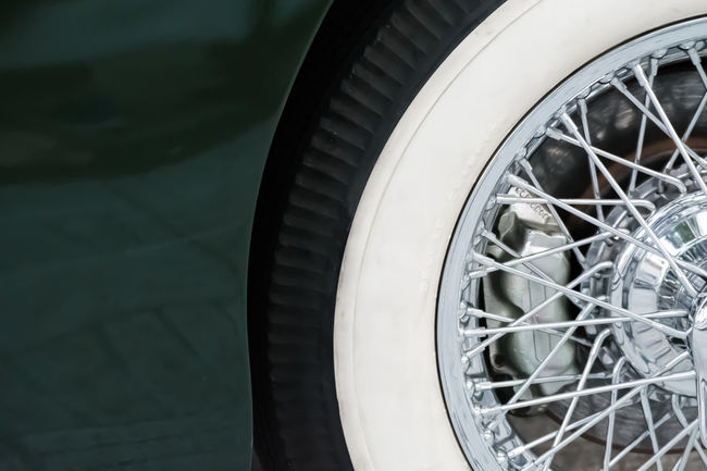 Car Classic Car Close-up Collector´s Car Colour Image Day Design Detail Focus On Foreground Horizontal Land Vehicle Mode Of Transport No People Old Car Old Fashioned Outdoors Reflections Retro Styled Shapes And Forms Shiny Transportation Tyre Vintage Vintage Cars Wheel