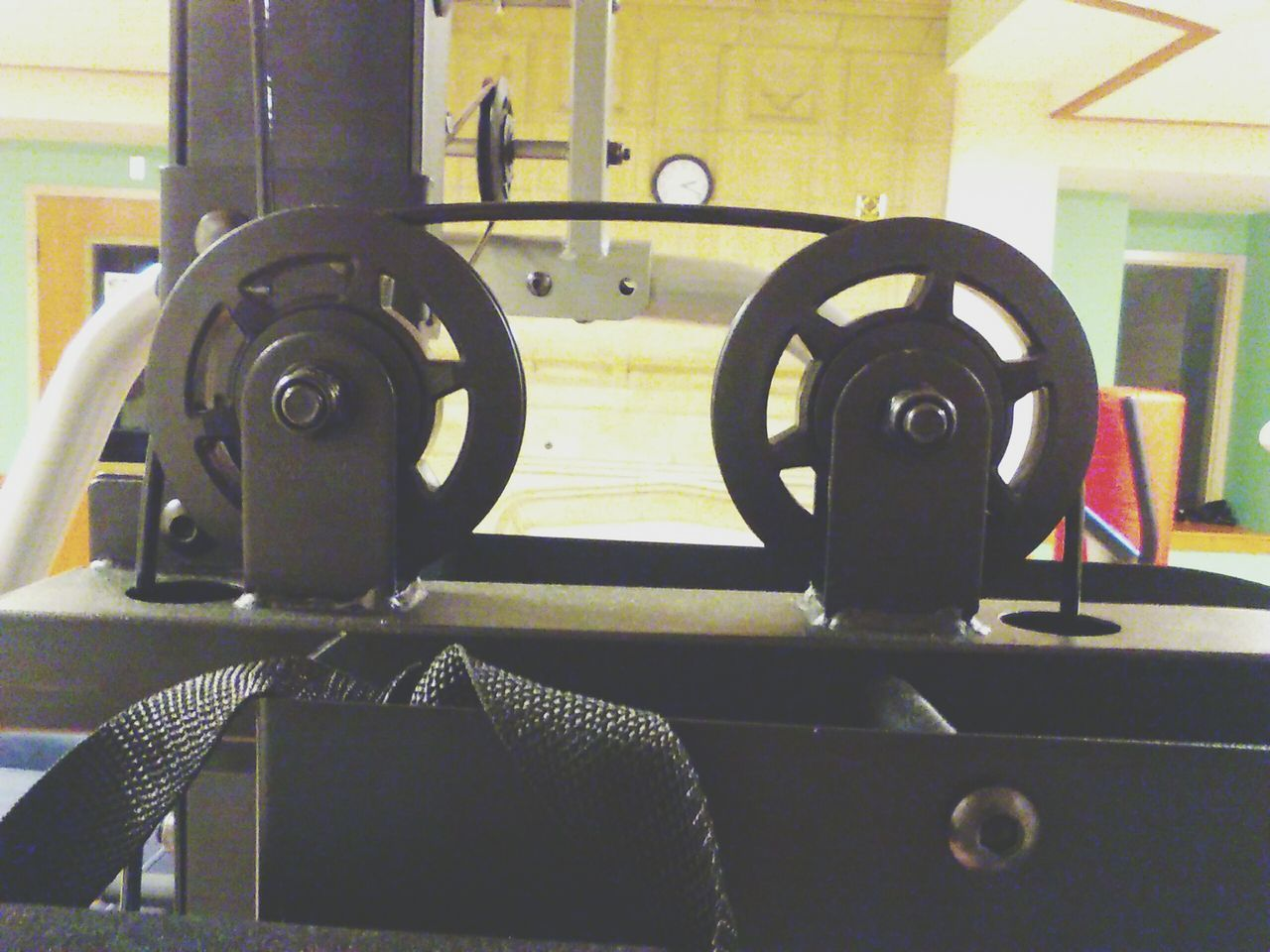The OO Mission Workout Fitness Universal Machine Part Weights Black Exercise