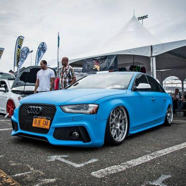 Blue car... How... Original. 😁 Waterfest Waterfest20
