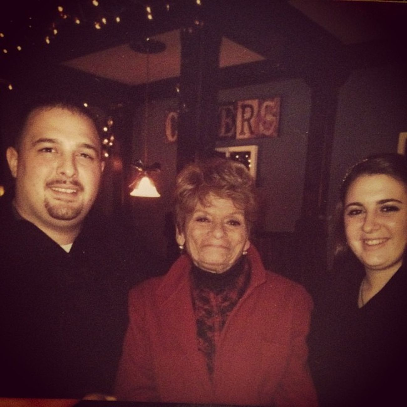 Watching white Christmas thinking of you Missyoulots christmas wont be the same Loveyou GuardianAngel Grandma