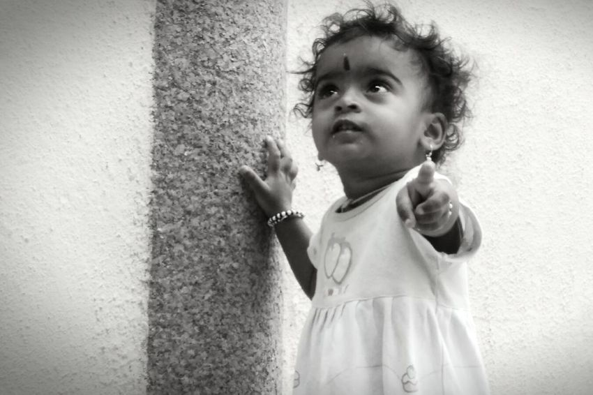 Black & White Blackandwhite Blackandwhite Photography Childhood Cute Girlchild Girls India India_clicks Indian Indian Culture  Indiapictures Innocence Kids Looking At Camera Mobile Shot Mobilephotography Monochrome Monochrome Photography Real People Storiesofindia Story