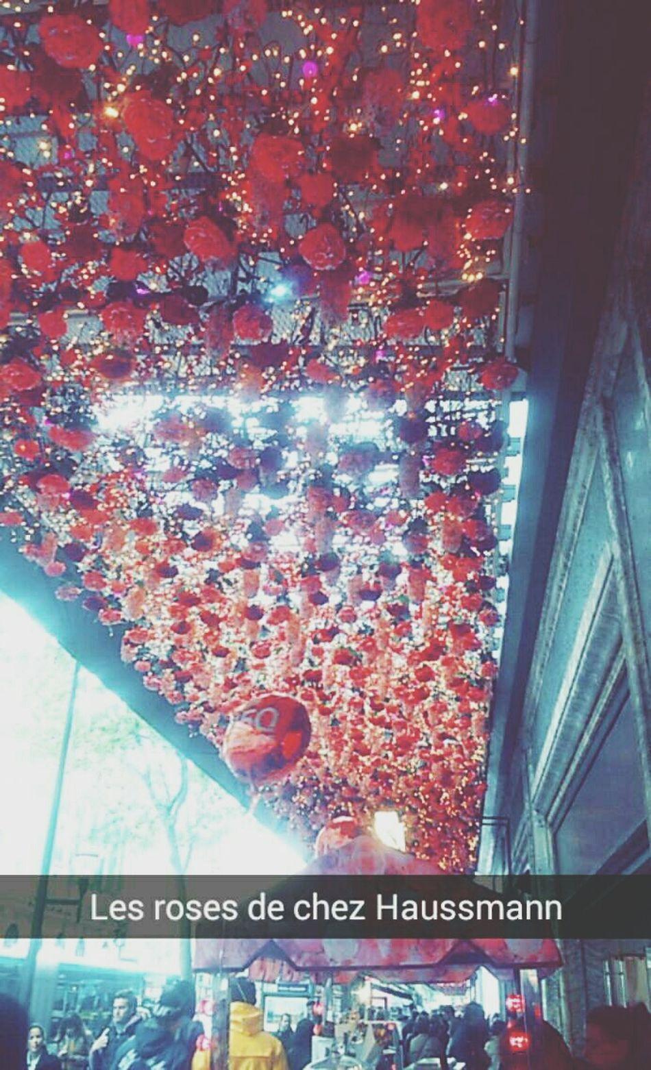 Petite balade sur le boulevard Haussmann Paris ❤ Haussmann Roses🌹 Pretty♡ Enjoying Life
