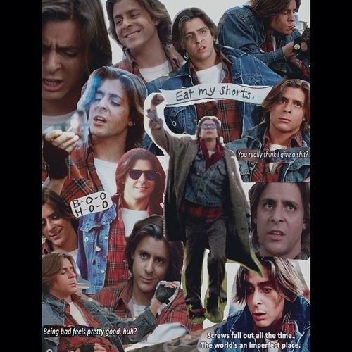 Judd Nelson's John Bender character in The Breakfast Club is probably my most important Idol. I love him. Eatmyshorts Youreallythinkigiveashit ? Beingbadfeelsprettygoodhuh ? Johnbender bender juddnelson thebreakfastclub bestmovie bestcharacter myidol badass