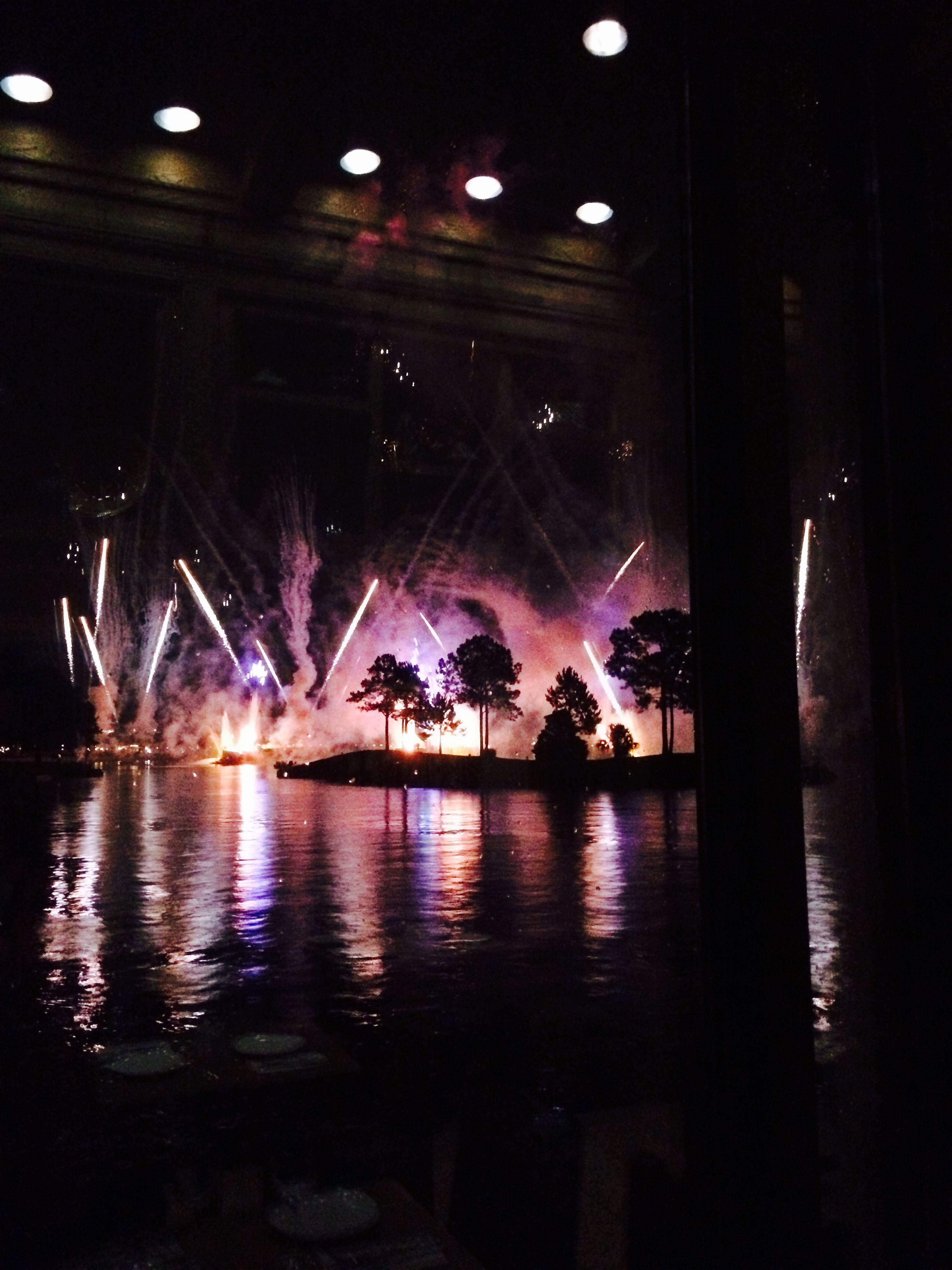 Fireworks Epcot Spiceroadtable Walt Disney World Mrocco Pavilion 9 O'clock