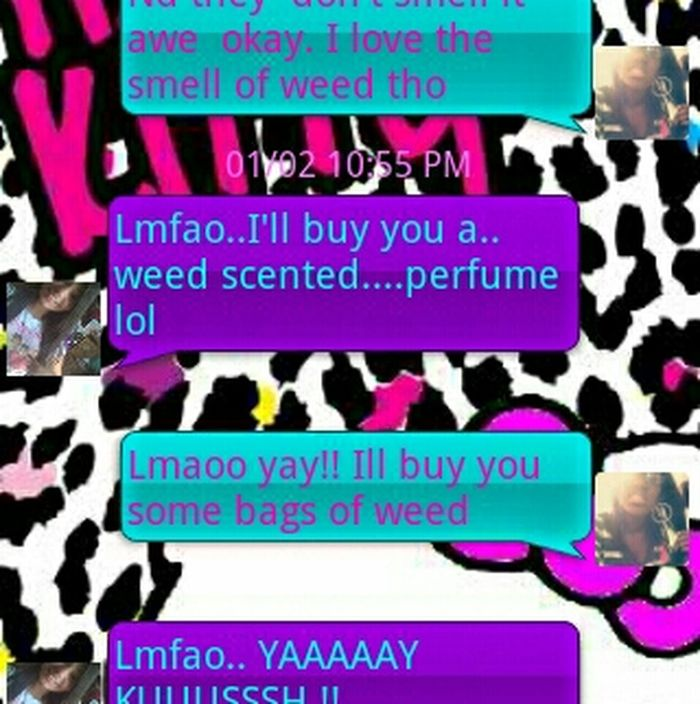 This old but me and my bestfriend convo :))