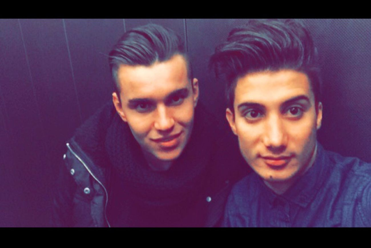 With My Lovely  Friend And Very Good ❤️❤️👬