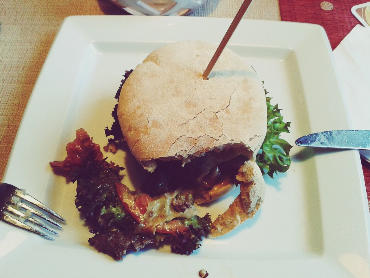 BärenBurger First Eyeem Photo Burger Fresh Made  Local Restaurant